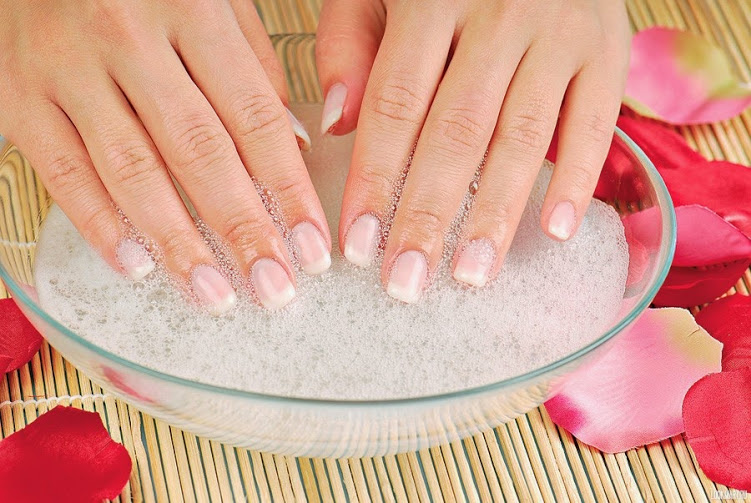 Acrylic Soak Off With Manicure   A Day Away Salon And Spa