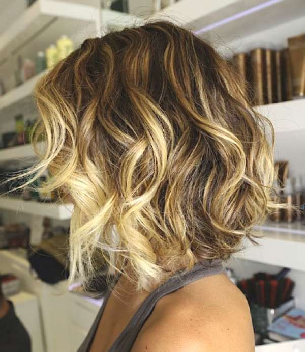 Ombre With Haircut Style A Day Away Salon And Spa
